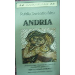 Andria -  P. Afro Terenzio - (testo latino a fronte)