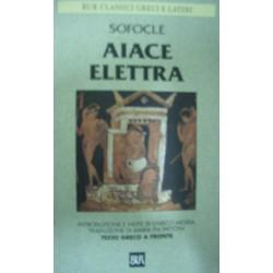 Aiace - Elettra - Sofocle - (testo greco a fronte)