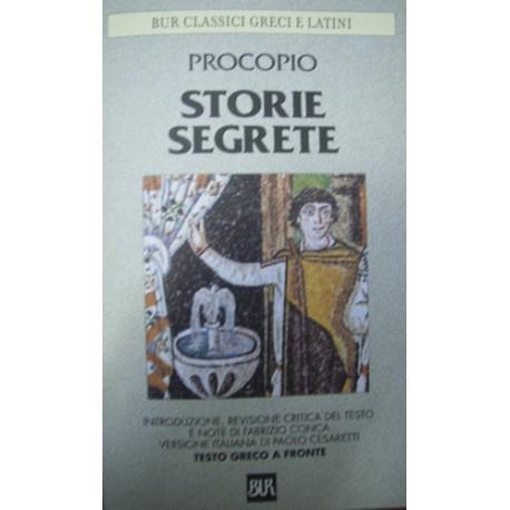 Storie segrete - Procopio - (testo greco a fronte)