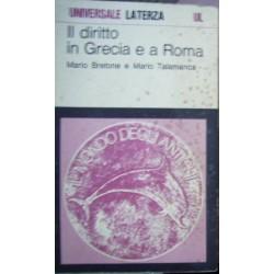 Il diritto in Grecia e a Roma - Mario Bretone/Mario Talamanca