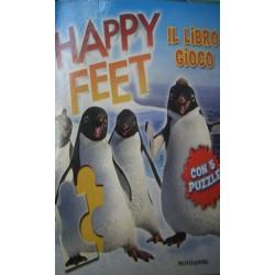 Happy feet. Il libro gioco con 5 puzzle