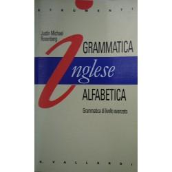 Inglese. Grammmatica alfabetica - Justin Michael Rosenberg