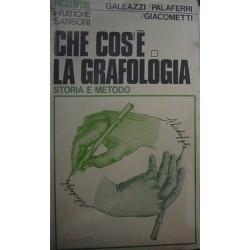 Che cos'è la grafologia - Giancarlo Galeazzi/Nazzareno Palaferri/Fermino Giacometti