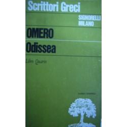 Odissea Libro IV - Omero (Testo greco)