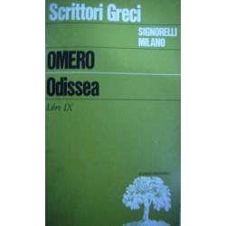 Odissea Libro IX - Omero (Testo greco)