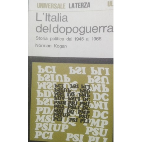 L'Italia del dopoguerra - N. Kogan
