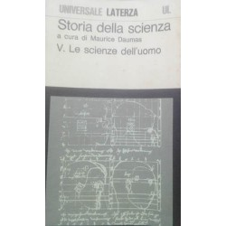 Storia della scienza - a cura di M. Daumas