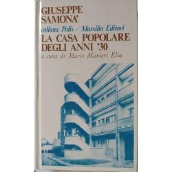 La casa popolare degli anni '30 - Giuseppe Samonà