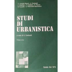 STUDI DI URBANISTICA - VOL. III - AA. VV. - a cura di Urbano Cardarelli