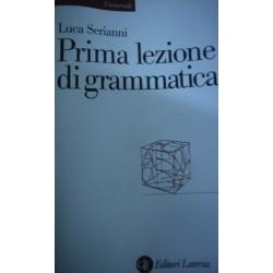 Prima lezione di grammatica - Luca Serianni