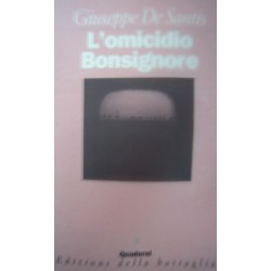 L'omicidio Bonsignore - Giuseppe De Santis