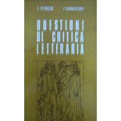 Questionidicritica letteraria - GiorgioPetrocchi/Pompeo Giannantonio
