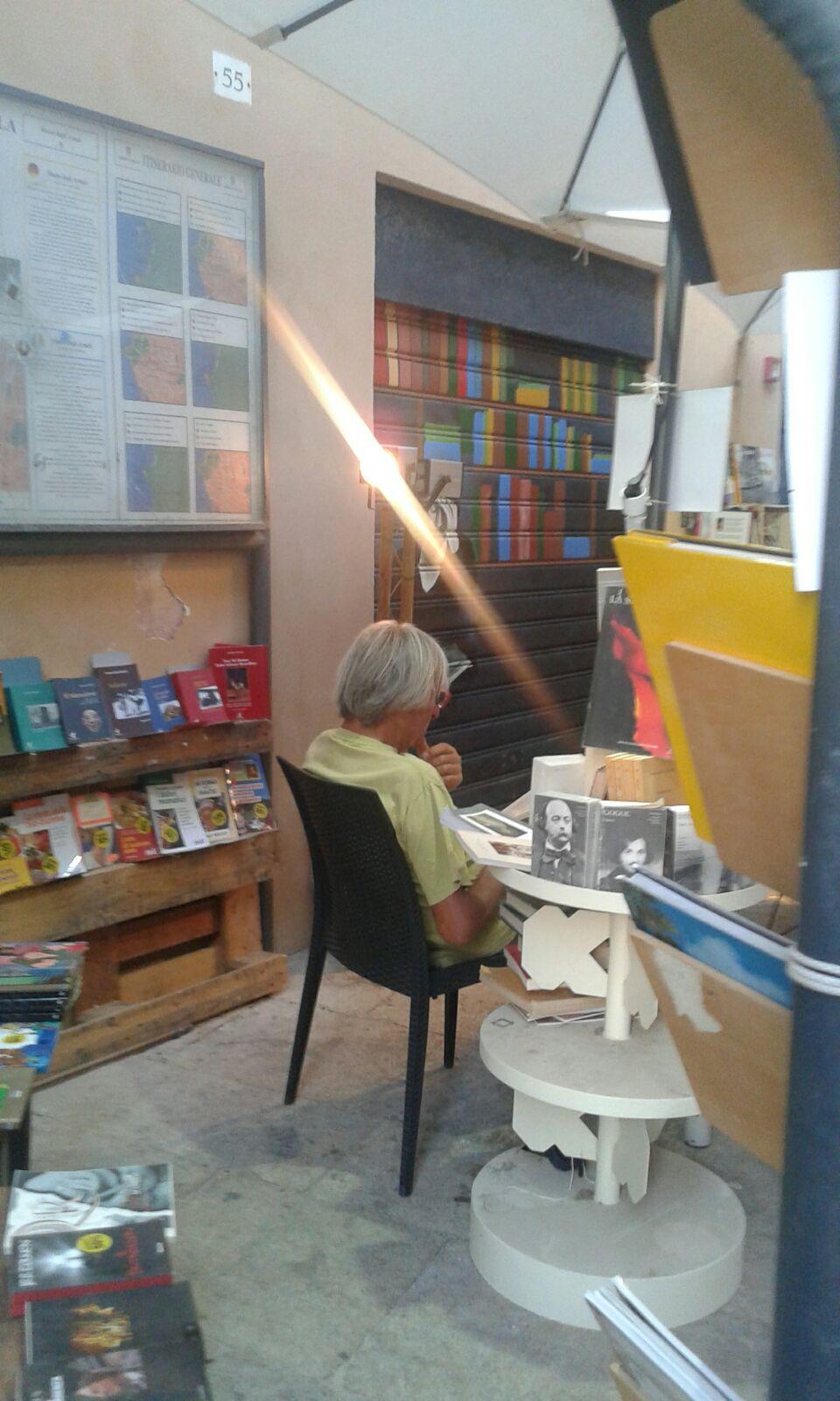 Pietro, il librario lettore